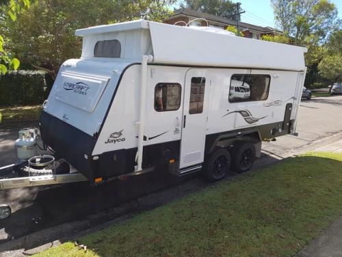 Wonderful Caravan Hire Queensland Jayco Swan Camper Trailer  2016