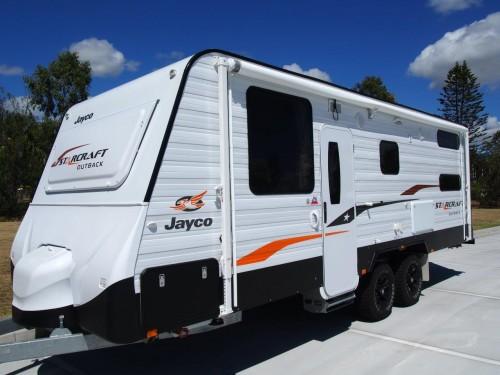 Jayco Starcraft Outback Luxury Caravan Ensuite Washing Machine.